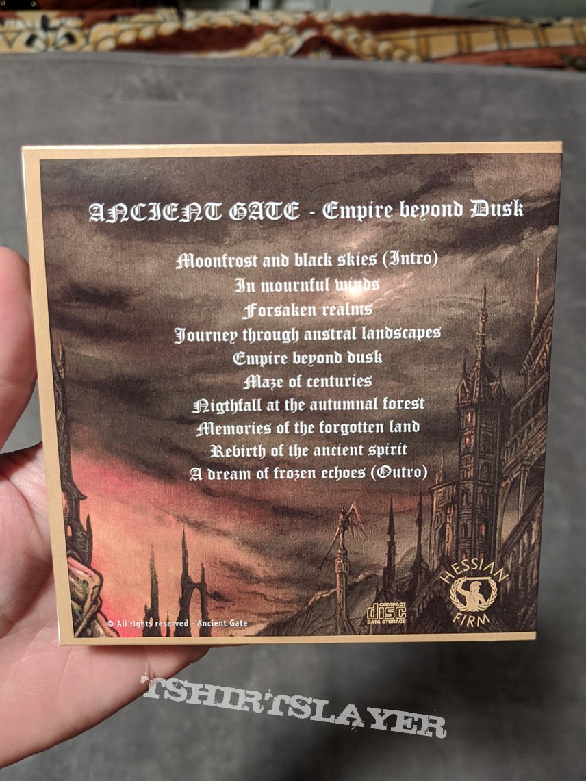 Ancient Gate - Empire beyond Dusk CD