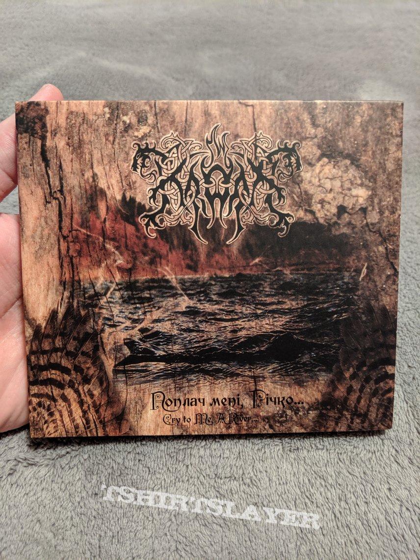 Kroda - Cry to me, River digipack CD
