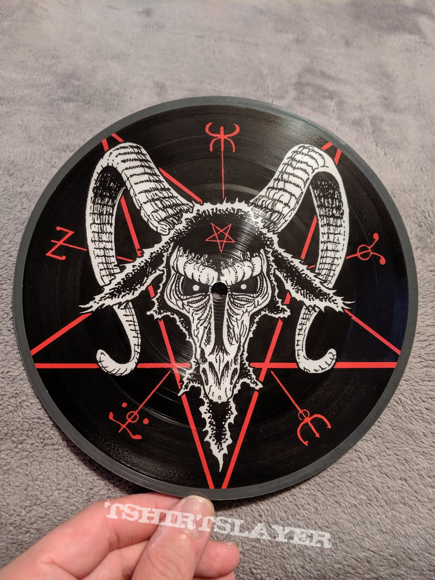 "Beherit - Dawn of Satan's Millennium 7"" vinyl"