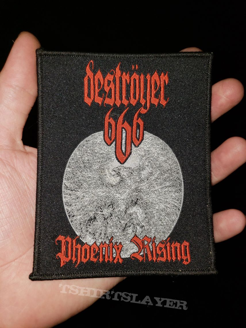 Deströyer 666 - Phoenix Rising woven patch