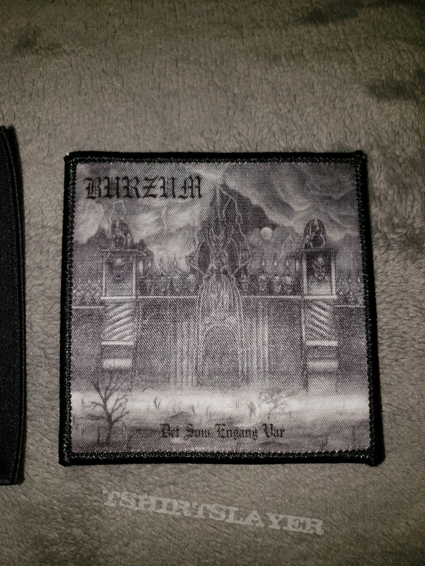 Samael - Worship Him & Burzum - Det som engang Var patches
