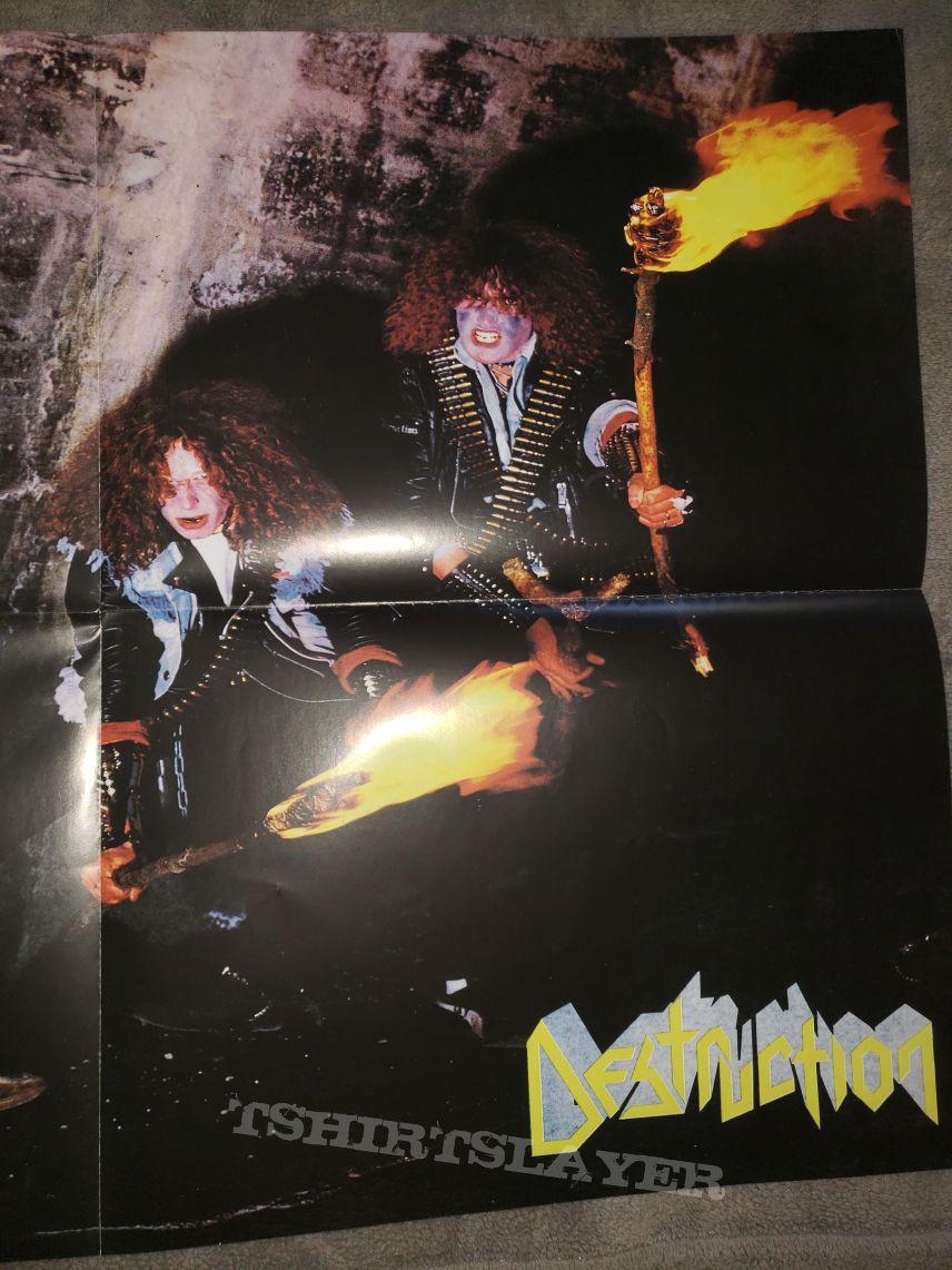 Destruction - Infernal Overkill poster
