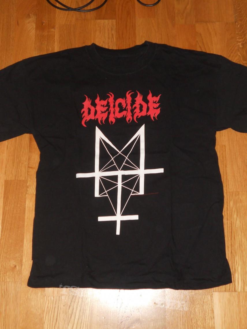 Deicide Trifixion Shirt Tshirtslayer Tshirt And