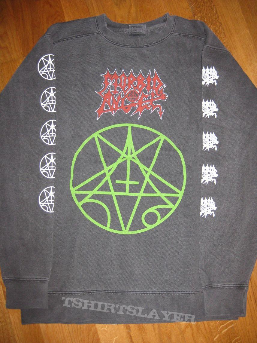 Morbid Angel /'Logo/' Crew Neck Sweatshirt NEW