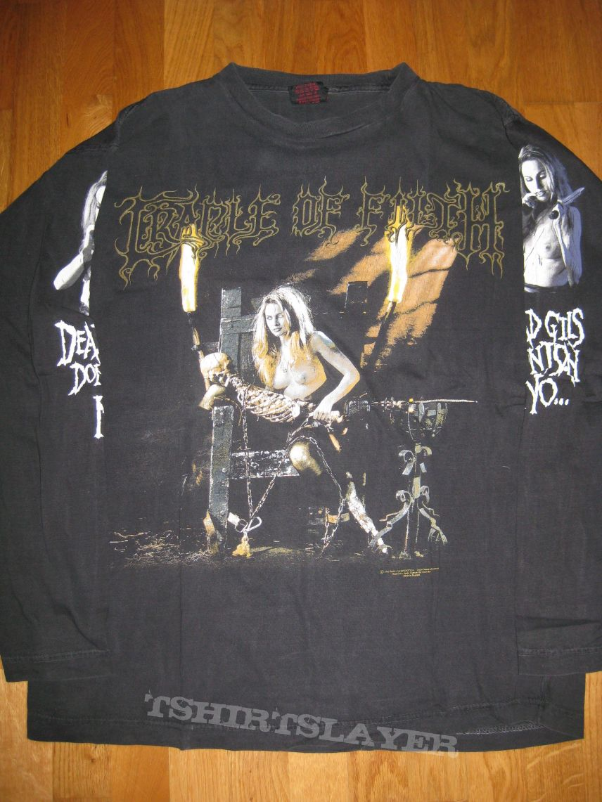 "Cradle of Filth ""Dead girls don't say no"" LS"