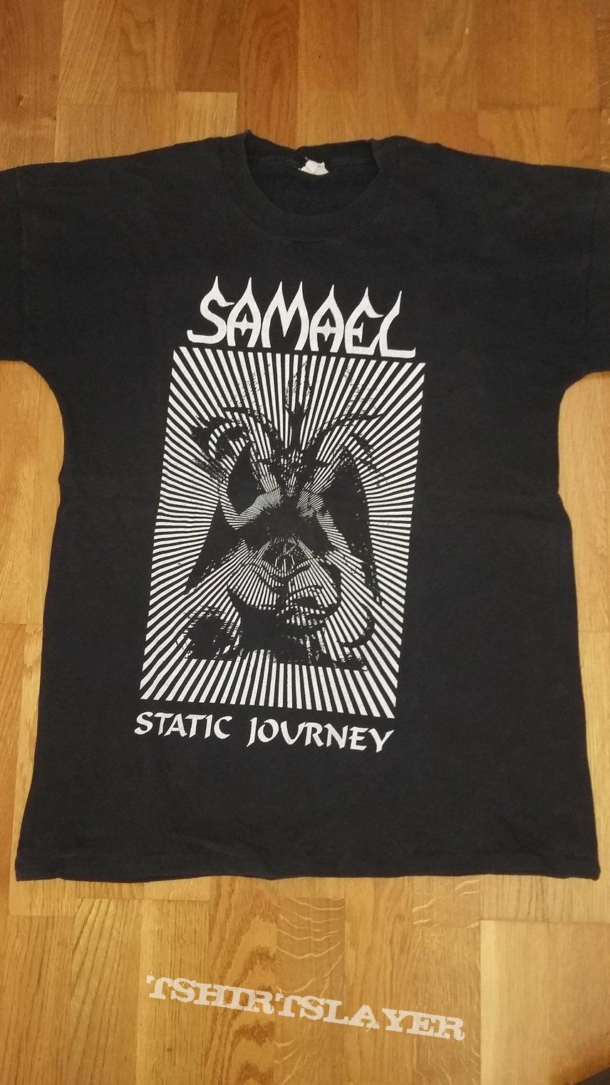 """Samael """"static journey"""" shirt"""