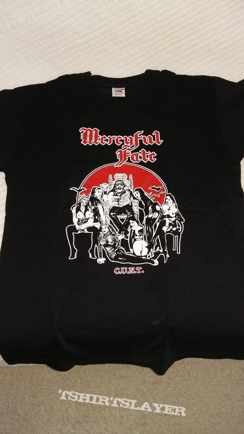 """Mercyful Fate """"Cunt"""" shirt"""