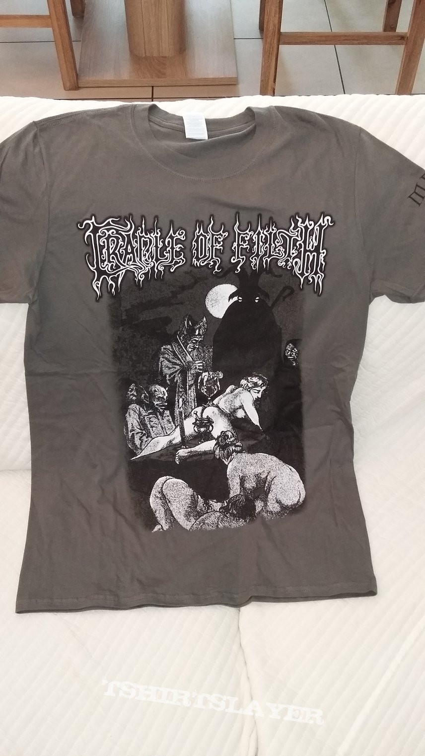 "Cradle of Filthe ""orgy"" shirt"
