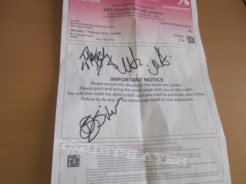 Signed Shizz Part 1
