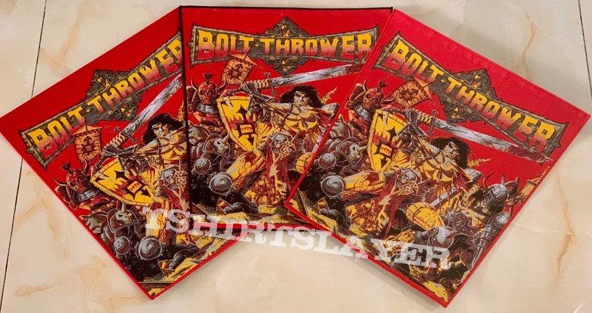 Bolt Thrower 'War Master' Woven Backpatch
