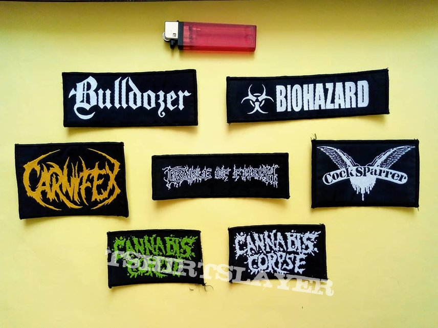 Logo Woven Patches