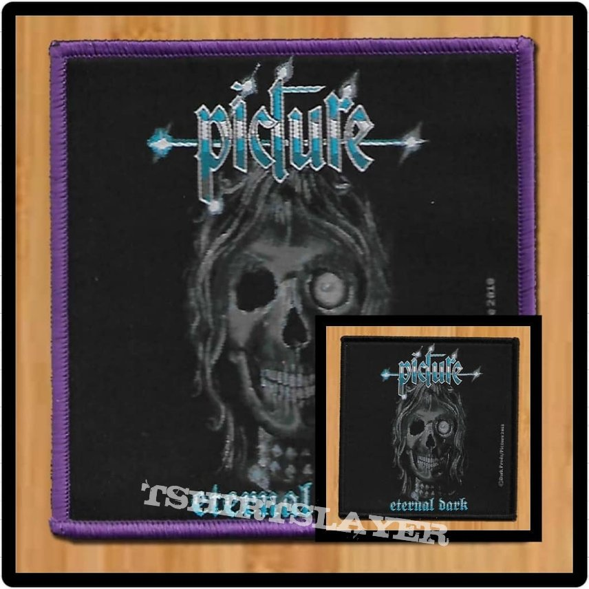 Picture 'Eternal Dark' Woven Patch