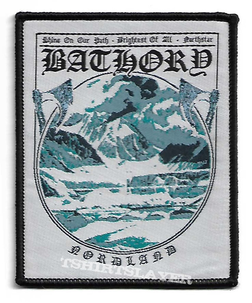 Bathory - Nordland Woven Patch