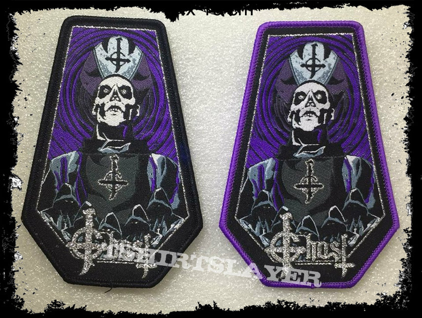 Ghost Coffin Woven Patch