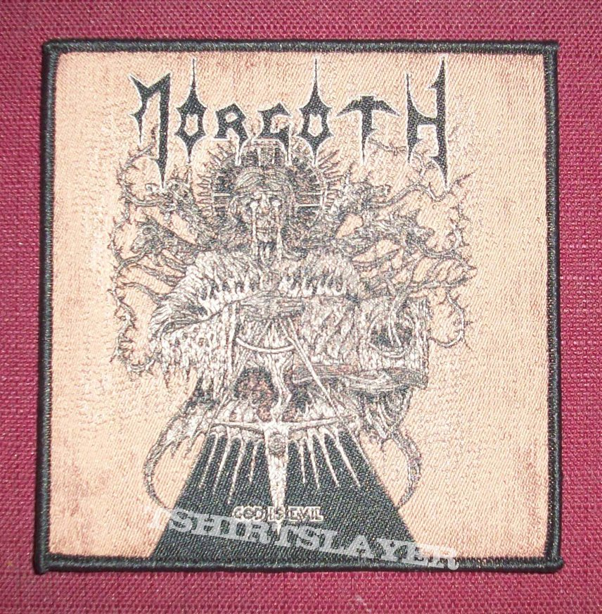 Morgoth Woven Patch