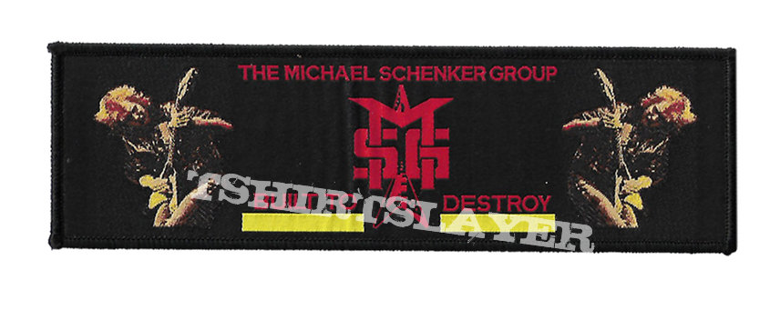 MSG Superstripe Woven Patch