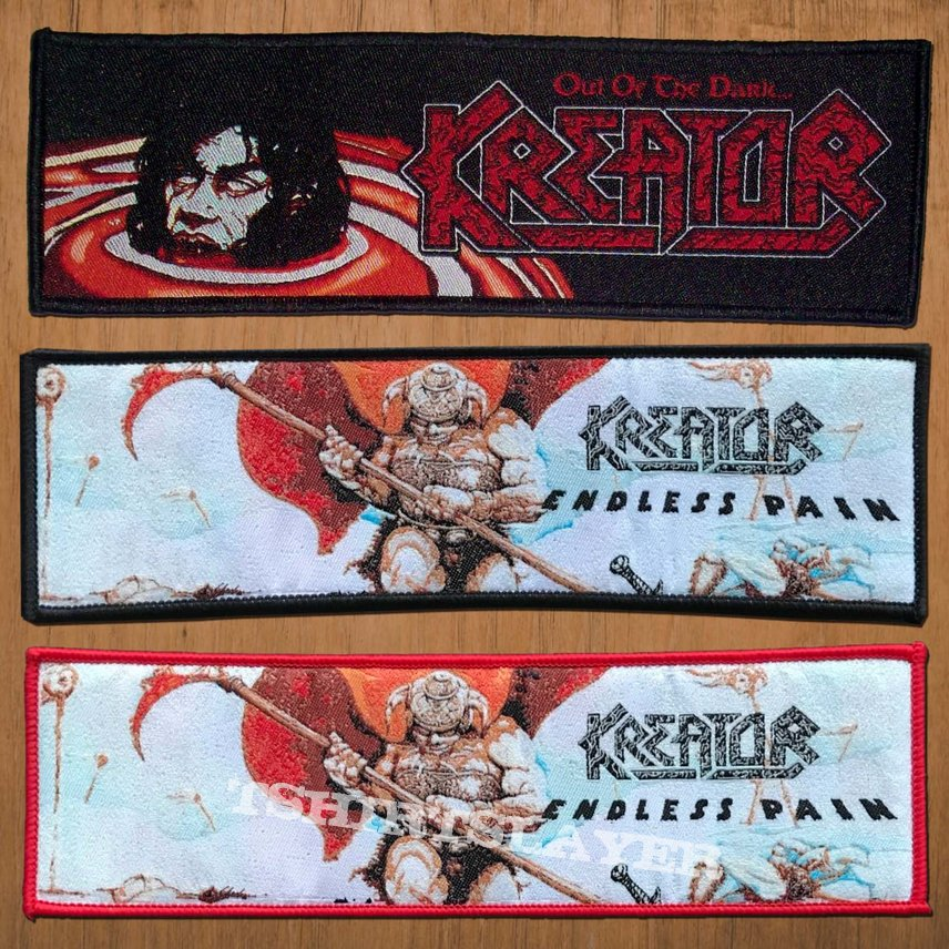 Kreator Superstripes Woven Patch