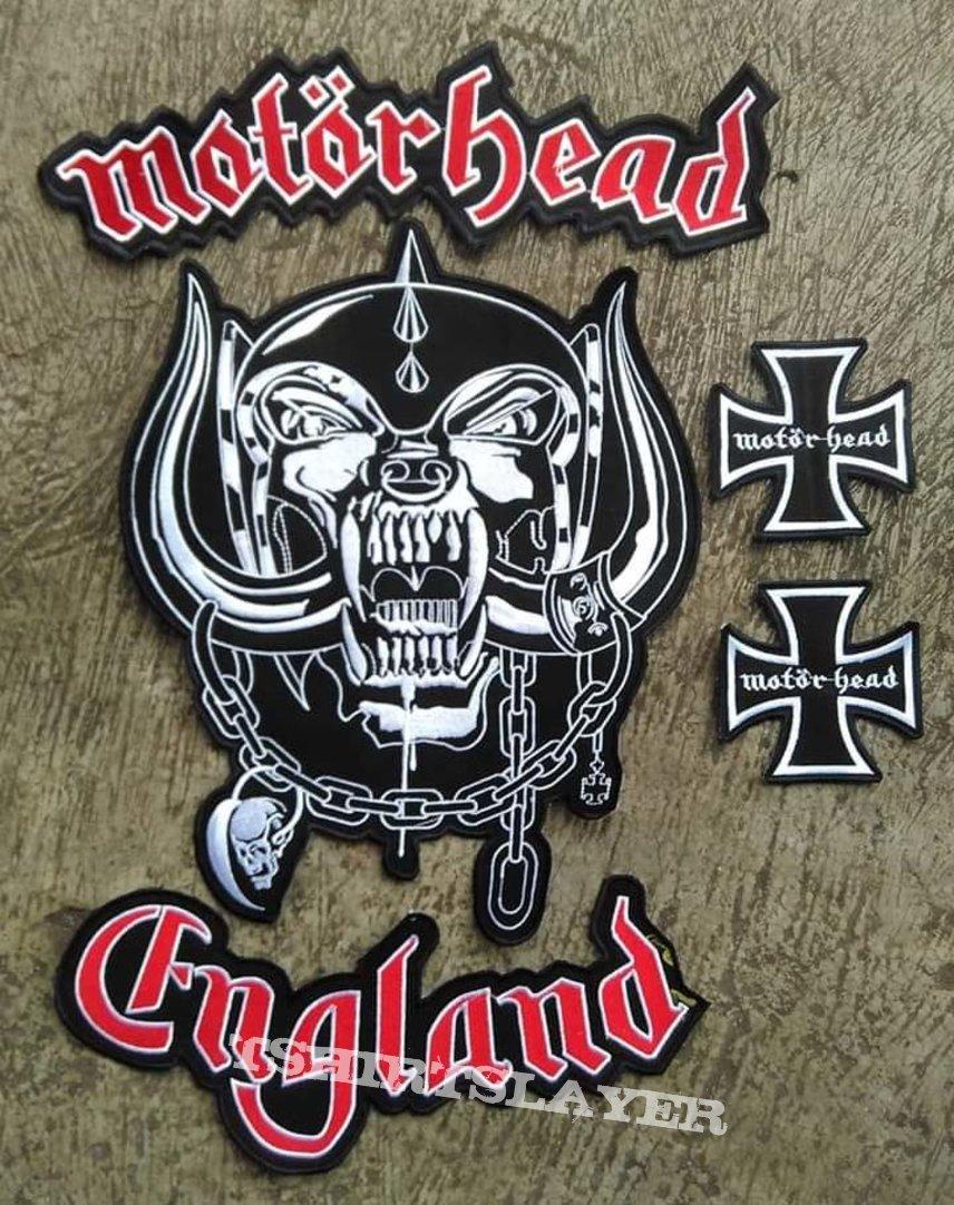 Set of Motörhead England Embroidery Back Patch