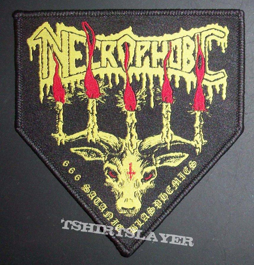 Necrophobic Woven Patch