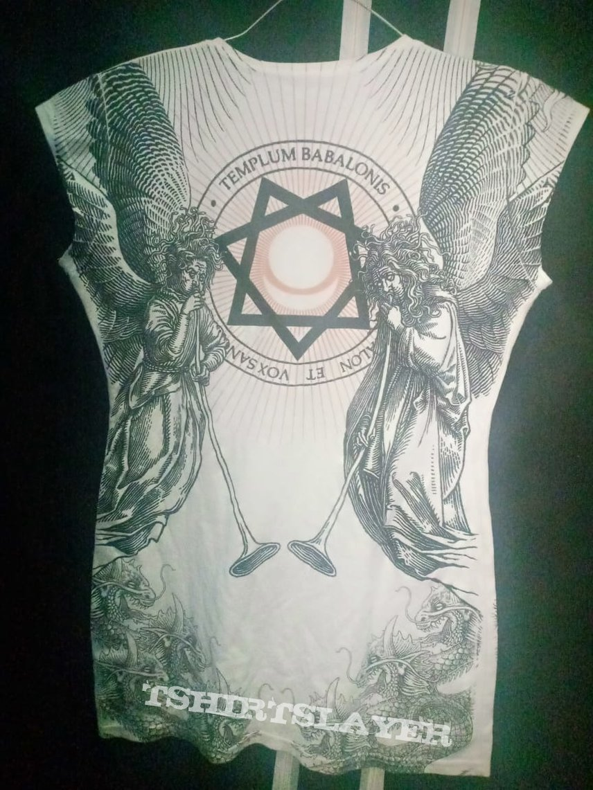 Behemoth 'evangelion' ladies shirt