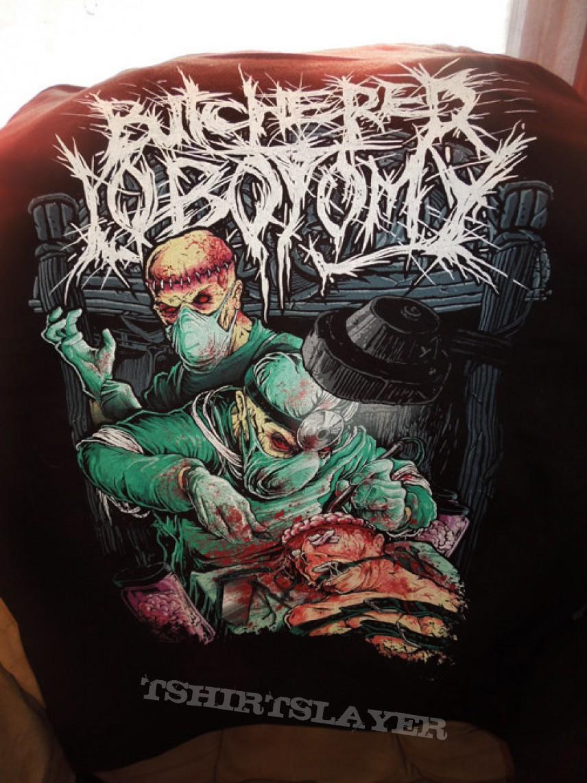 Aborted - Butchered Lobotomy Zip Hoodie