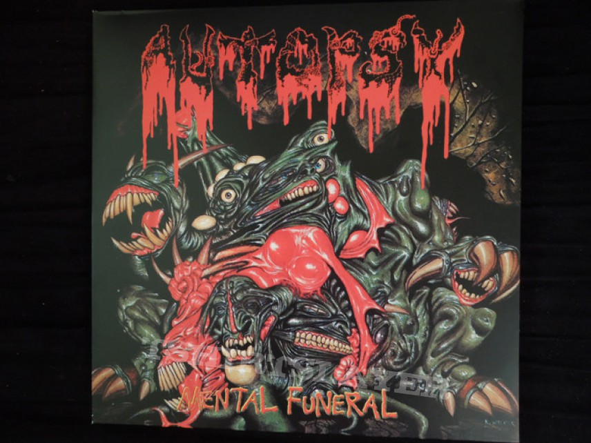 Autopsy - Mental Funeral Vinyl (Red)