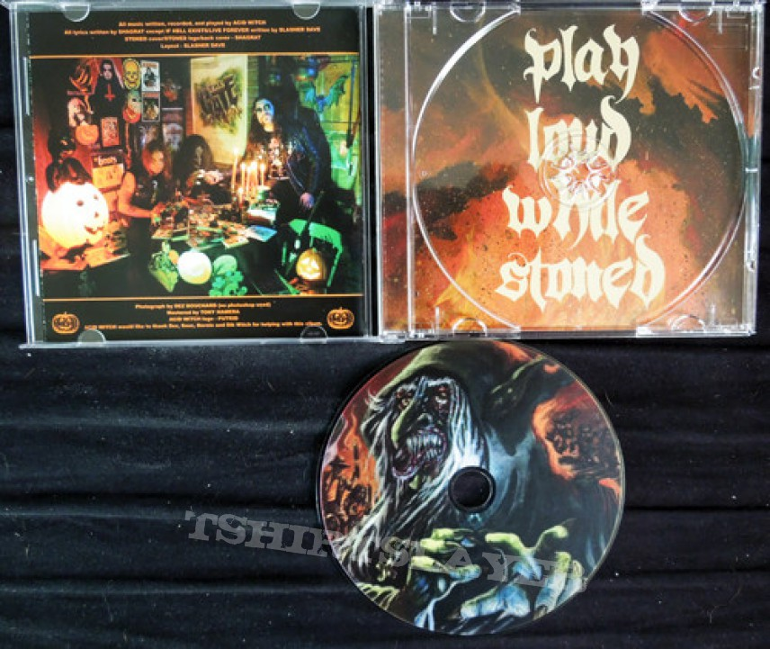 Acid Witch - Stoned CD