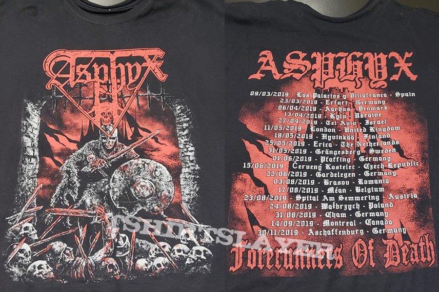 Asphyx - Forerunners of Death Tour Shirt