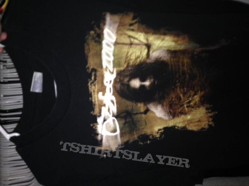 Ozzfest 2000 shirt