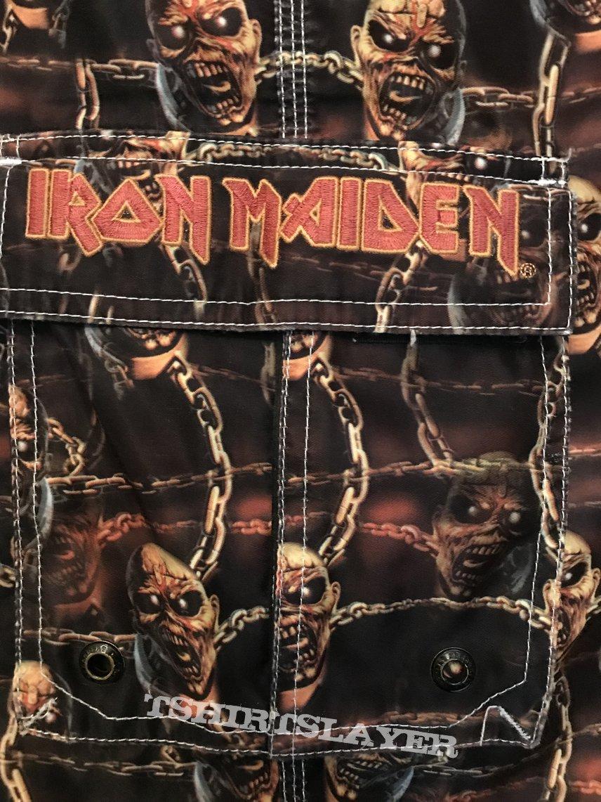 Iron Maiden - Piece of Mind Jams 1998 Size 28-30 waist