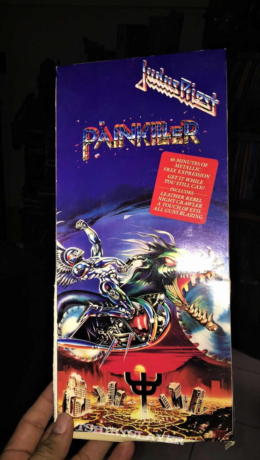 Judas Priest - Painkiller 1990 © Columbia CD Long Box