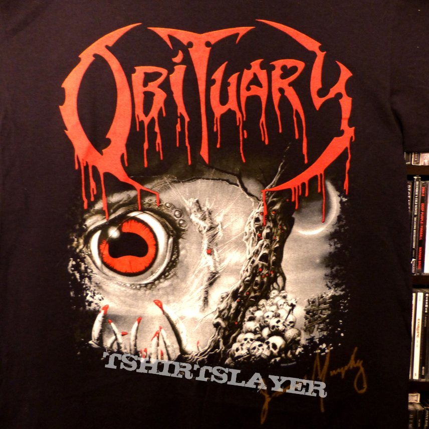 Obituary - Cause of Death - signed by James Murphy / Medical Fund 2011 SUPPORT THE CAUSE