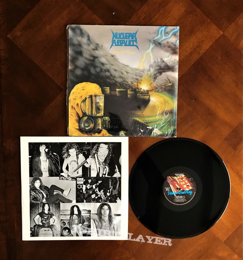 Nuclear Assault - The Plague 1987 (Nuclear Assault EP)
