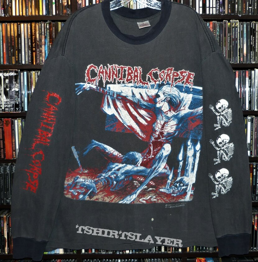 Cannibal Corpse - Tomb of the Mutilated ©️ 1992 Blue Grape Merchandising dist. by ©️ Direct Merchandising