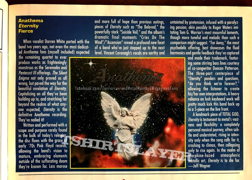 Anathema - Eternity 1996