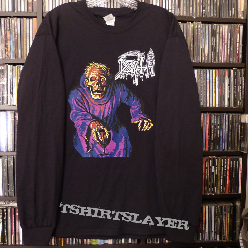 Death - Scream Bloody Gore Tour Long Sleeve Official 2015 Reprint (Out of Stock)