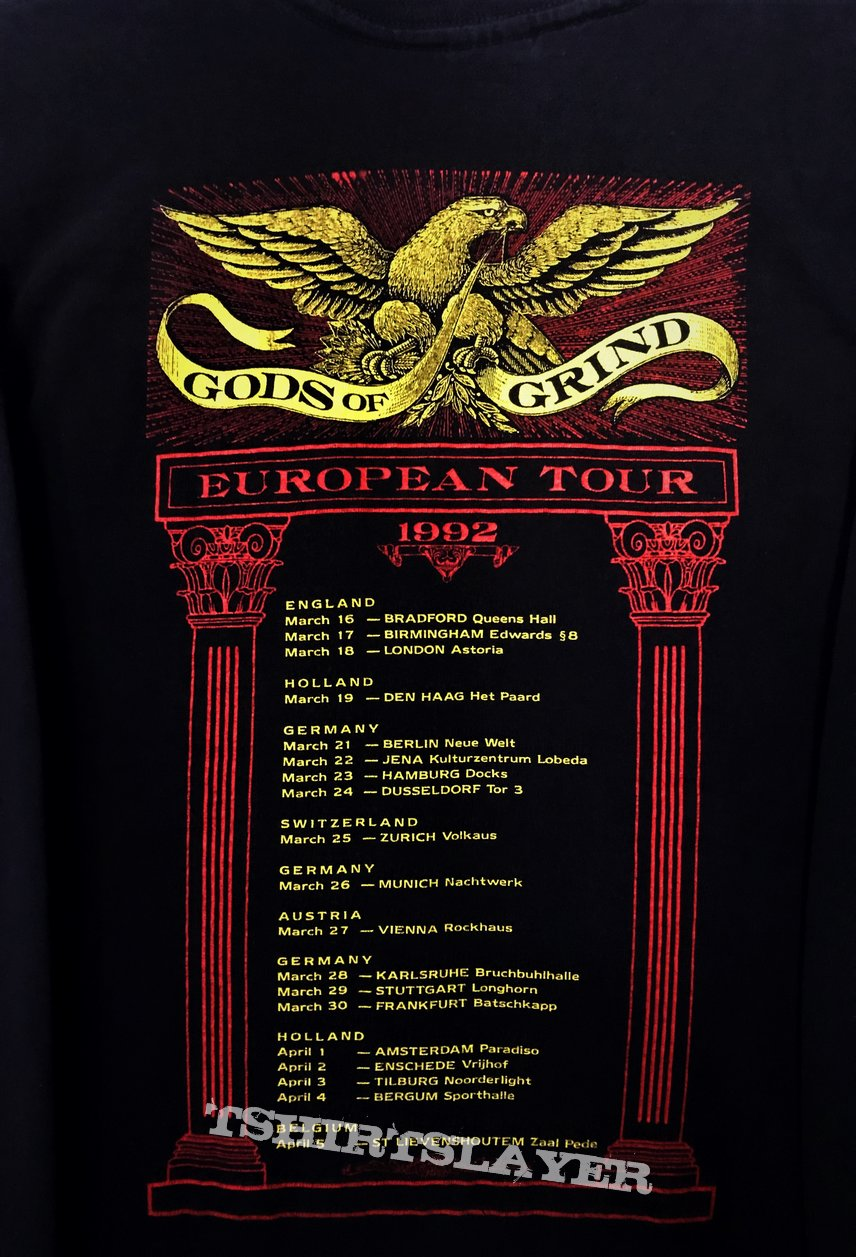 Carcass - Head / Definition / Gods Of Grind European Tour 1992