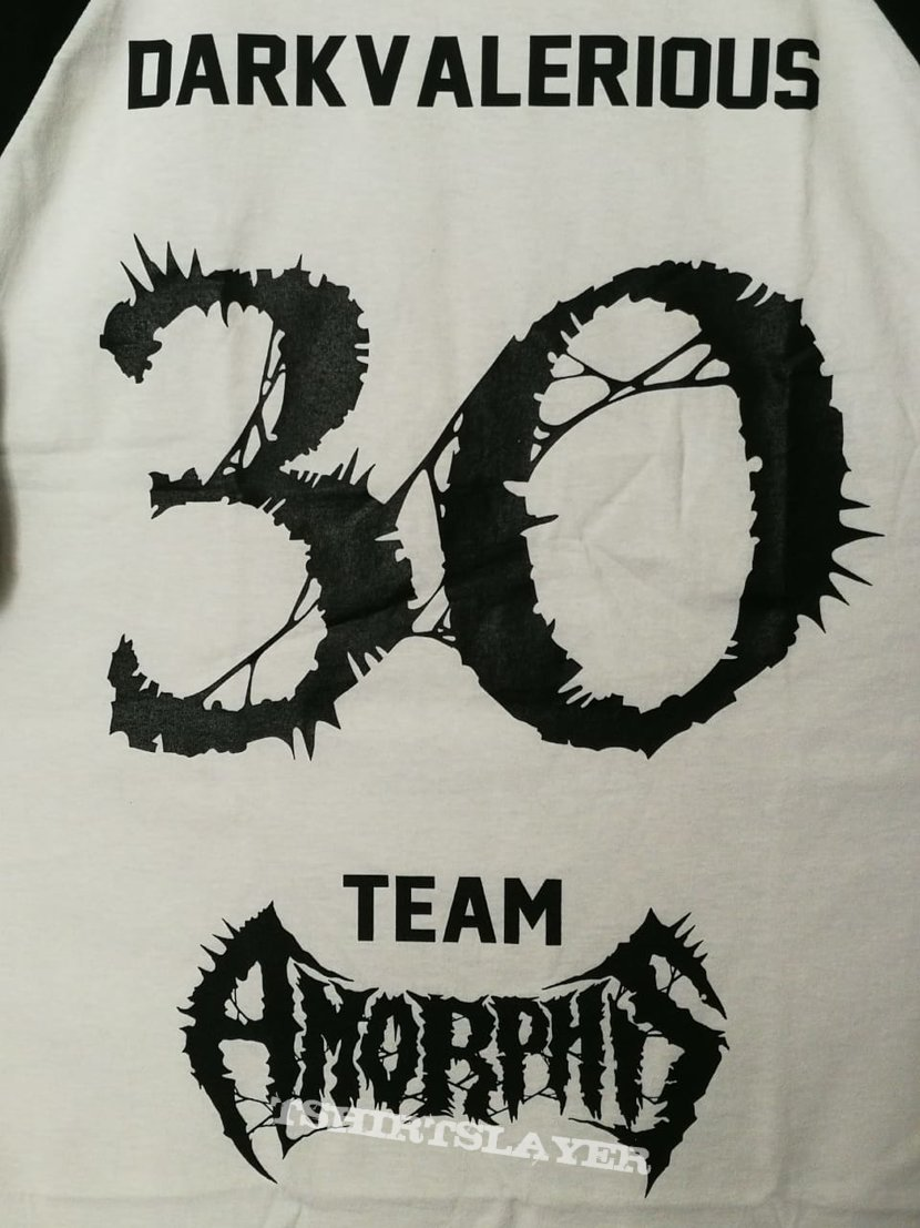 Amorphis - 2020 Personalized 30th Anniversary Hellsinki Raglan Shirt DARKVALERIOUS