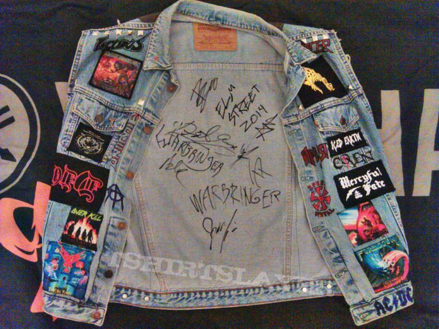 My Heavy/Death/Thrash battle jacket (Update)