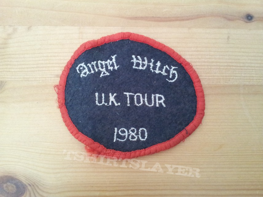 Angel Witch U.K Tour 1980 embroidered patch