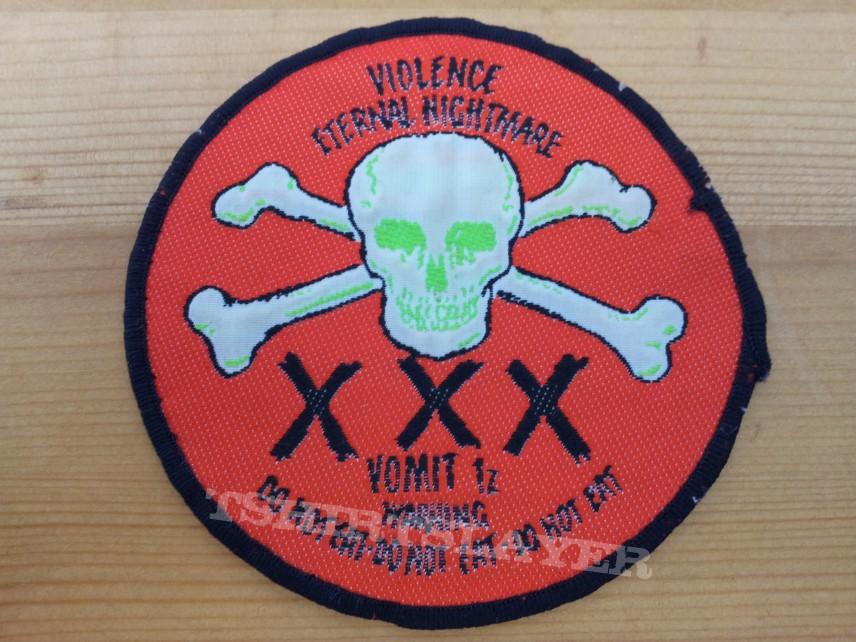 Violence-XXX woven patch