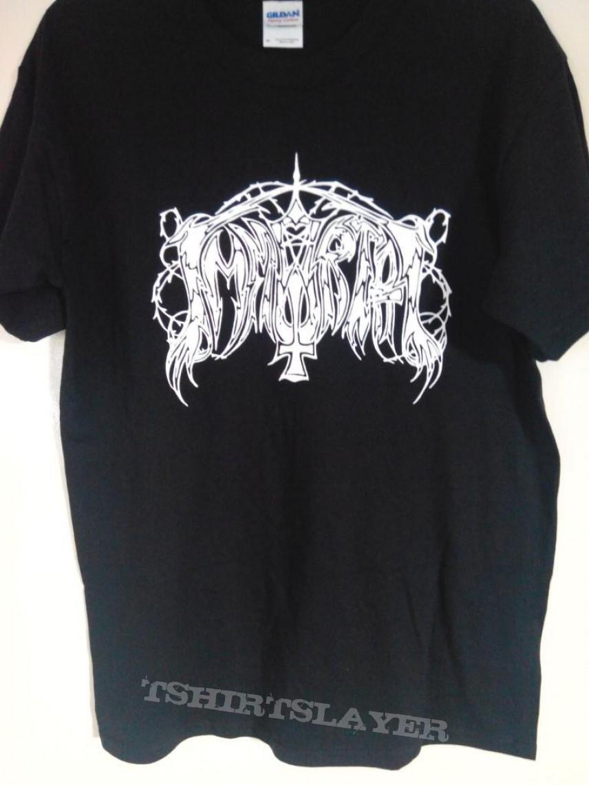Immortal - Old Logo T-shirt - Size Medium