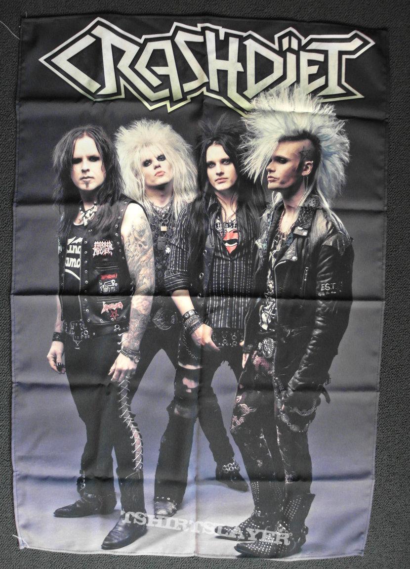 Crashdiet Polyester Flag