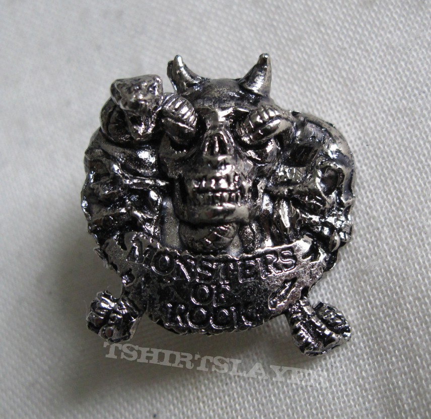 Monsters Of Rock - Pin