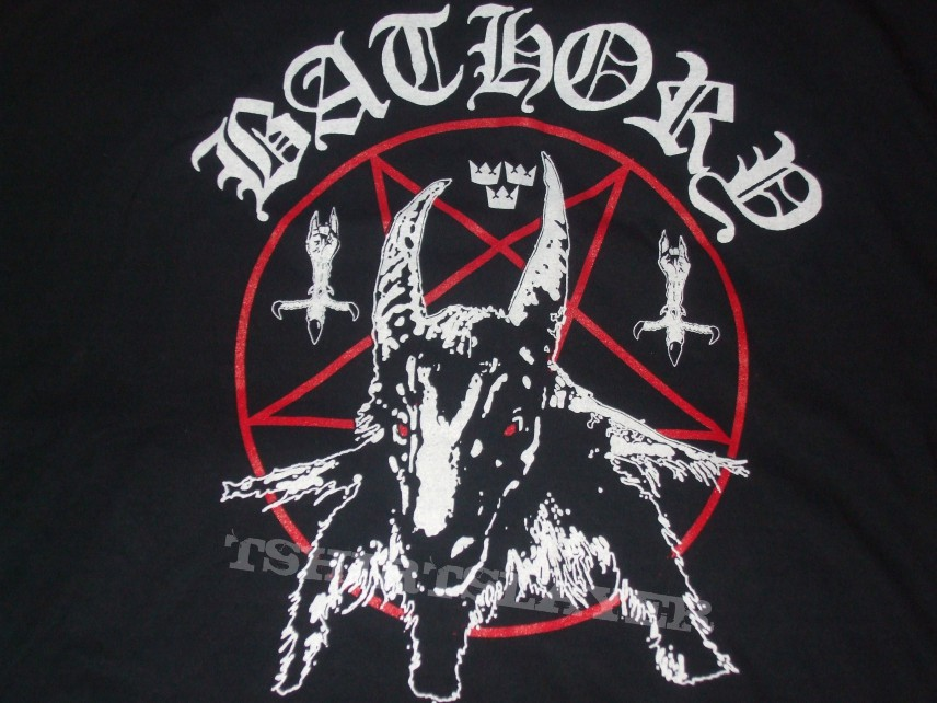 bathory quotgoatblack metal hordesquot reissue shirt american