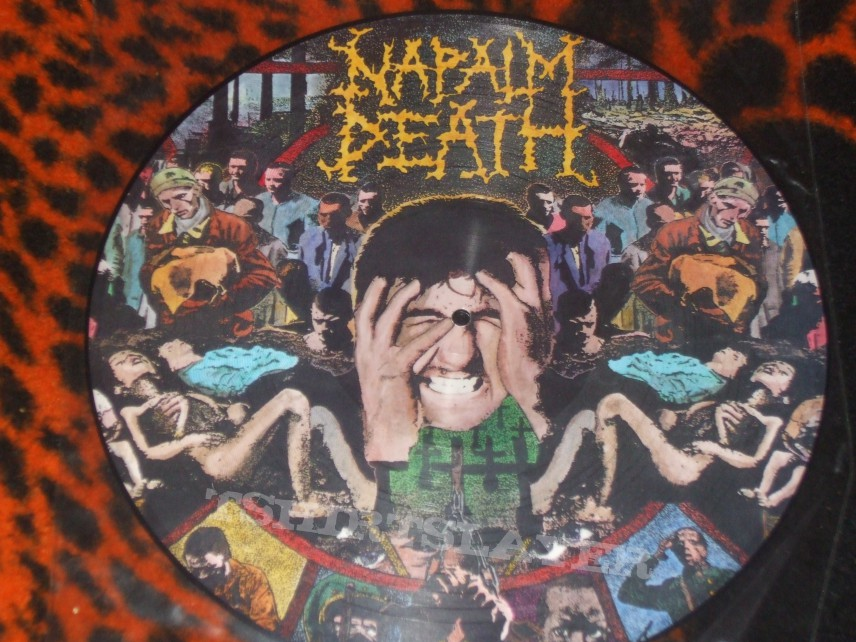 Napalm Death Quot From Enslavement To Obliteration Quot Original