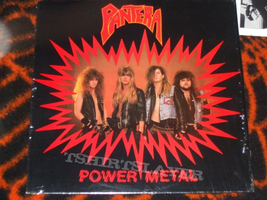 Pantera Quot Power Metal Quot Original 1988 Pressing On Metal