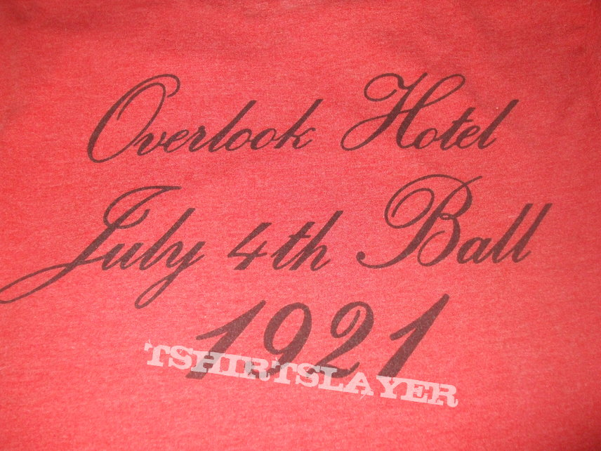 """THE SHINING """"Overlook Hotel 1921""""  movie poster horror shirt"""