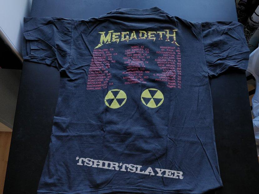 Megadeth - Rust In Peace vintage tour shirt
