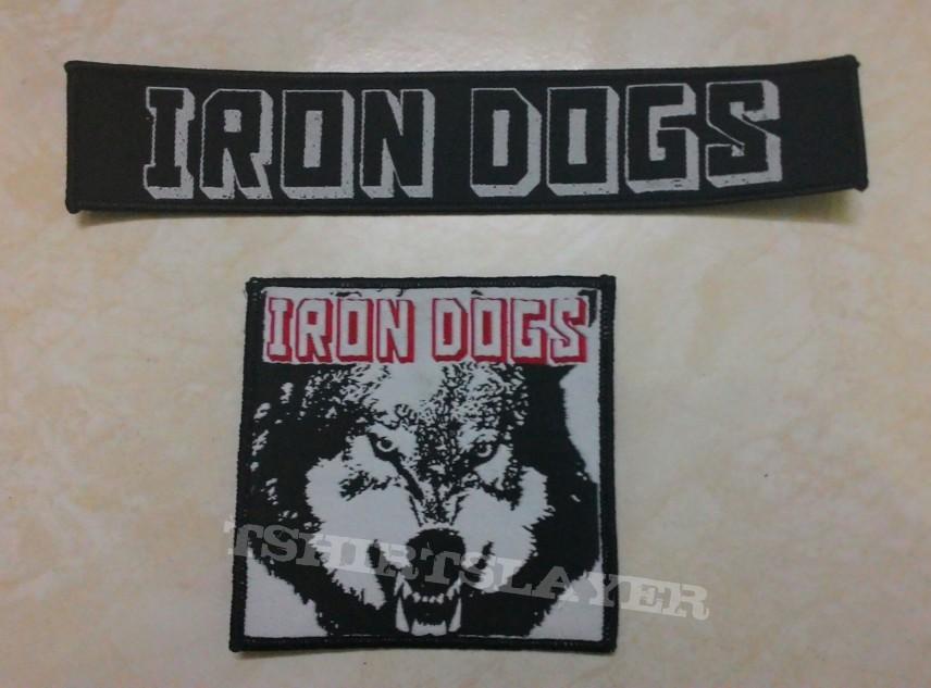 iron dogs stripe patch